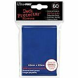 Trading Card Sleeves 60 Ultra Pro Blue Deck Protectors YuGiOh Sized