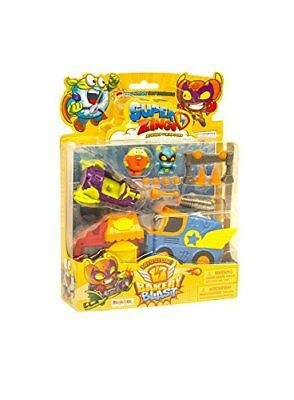 MagicBox MBXSZ1P0700 SuperZings Series 1 Rivals of Kaboom Blister Mission 1 Acti