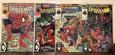 Spider-Man # 1, 2,6,8,Todd McFarlane 4 Book Lot Marvel 1990-NM