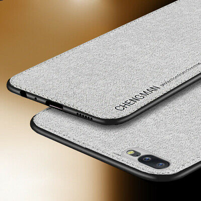 For OnePlus 6T 6 5T 5 Luxury Magnetic Shockproof Soft TPU Fabric Back Case Cover