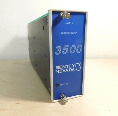 Bently Nevada 3500/15 AC Power Supply 127610-01