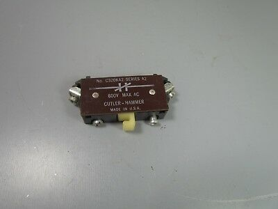 Cutler Hammer Auxiliary Contact, C320KA2, series A2, 1 nc,   NOS
