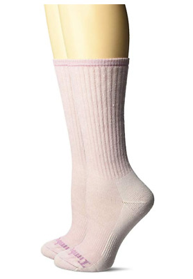 Timberland Women's Boot Sock Collection,OSFM, 2 Pairs per Pack, Light Pink