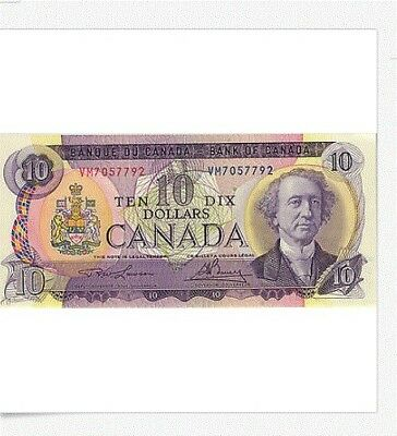 10 Dollars,  Kanada  1971 Pick 88c