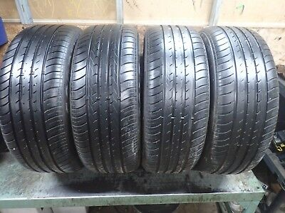 Set of NCT5 EMT Tires 255 50 21 and 285 45 21 8.5/32 No Repairs  Rolls Royce