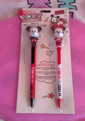 Disney Wow Collection Mickey and Minnie Pen Set