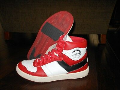 d8c0a0f994d8 Preowned PONY CITY WINGS 70713-FTR-55 Basketball Shoes Size 10.5 US 44 Red