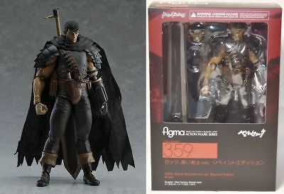 New Figma Guts Black Swordsman Ver Repaint Edition Berserk Max Factory Figure