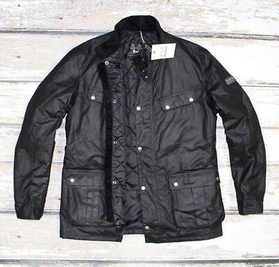 NEW BARBOUR International WAXED DUKE Men's Jacket Coat RRP 200£ XL Size