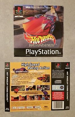Hot Wheels Turbo Racing - Cover Art Inserts (PlayStation PS1)