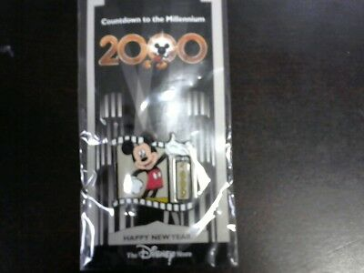 New Disney Countdown to the Millennium Pin 1 Mickey Mouse Happy New Millennium