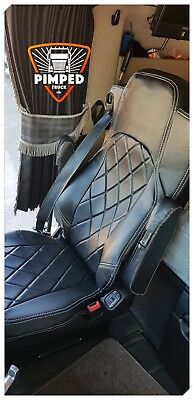 TRUCK SEAT COVERS MERCEDES Seats Covers For Mercedes Actros MP4 black&black