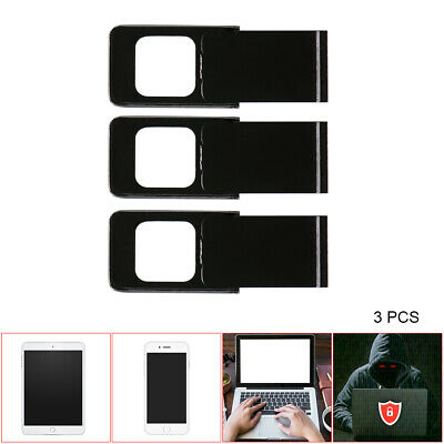 3pcs Webcam Slider Camera Cover Privacy Sticker for Phone Tablet Laptop DC786
