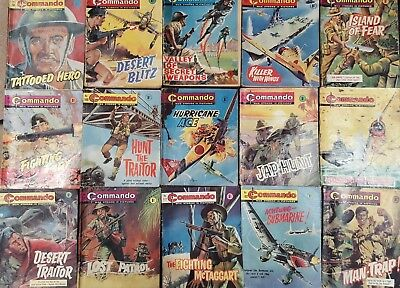 Commando picture library BULK COLLECTION 50 ISSUES - 58 - 350 -