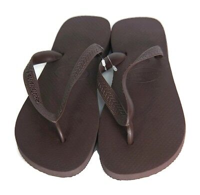 54a28cf072e6d4 Havaianas Top Men s Sandal (Dark Brown) Size M4 5 (Brazil 35