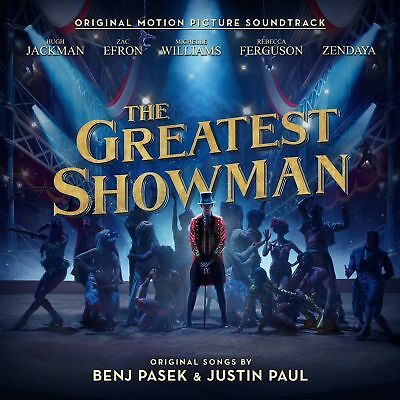 The Greatest Showman 2018 Full Movie Soundtrack CD Album Motion Picture Various