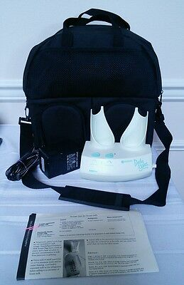 AMEDA PURELY YOURS PERSONAL DOUBLE ELECTRIC BREAST Feeding PUMP & CARRY ALL BAG