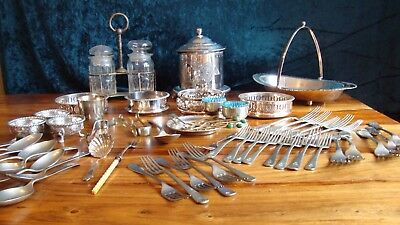 Job Lot Silver Plate large Collection, over 6Kg