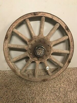1920's Willys Knight Touring Car Wheel With Spindle