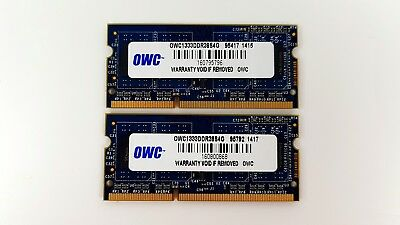 OWC 8GB (2 X 4GB) PC3-10600 DDR3 1333MHz Laptop Memory OWC1333DDR38S4G