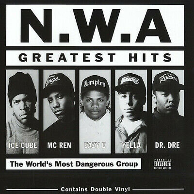 N.W.A. Greatest Hits remastered vinyl LP NEW/SEALED