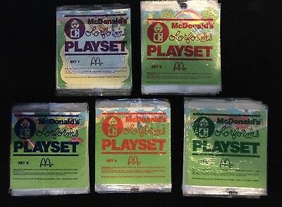 *Choose 1* 1986 McDonalds Colorforms Playset Sealed Fast Food Premium *5 Styles*