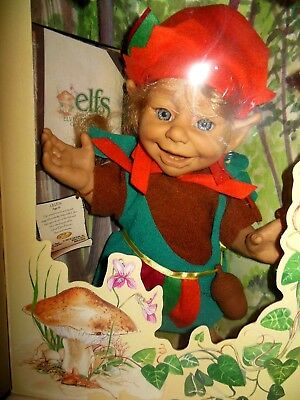 1997 Berenguer Elfs The Great Elven Forest Collection Lillen New in Box