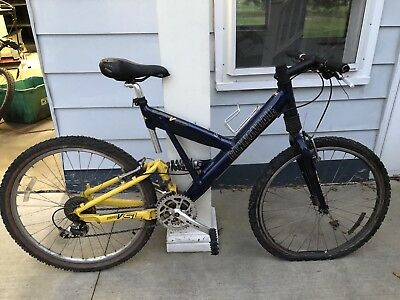 6f3d13fddd1 CANNONDALE SUPER V 1000 MOUNTAIN BIKE BICYCLE Size Large Full Suspension