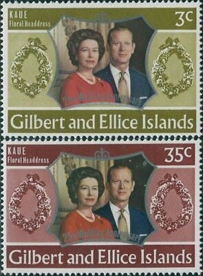Gilbert Ellice Islands 1973 SG213-216 Island Names set MLH