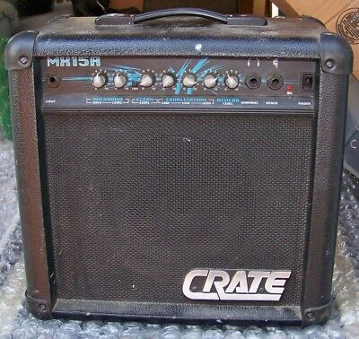 CRATE BX15 GUITAR B Amplifier - $29.99 | PicClick