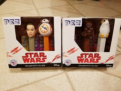 PEZ Star Wars: Episode 8: Pez Set of 2 Twin Packs