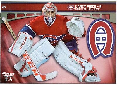 2014 Fathead PRICE NHL Tradeables #35 Montreal Canadiens 5x7 Wall Decal CAREY