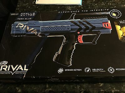 Team Blue NERF RIVAL APOLLO XV-700 Blaster ADVANCED TOY DART GUNS Ages 14