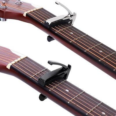 1pc Quick Change Tune Clamp Key Capo for Acoustic And Electric Guitar 2 Colors