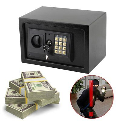 8.5L Digital Electronic High Security Home Office Money Safety Box Keypad Lock