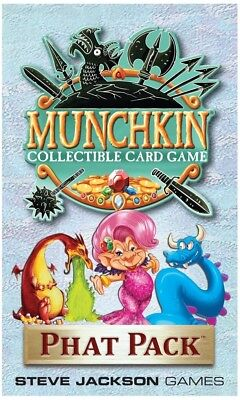 Munchkin Collectable Card Game - Phat Pack  - BRAND NEW