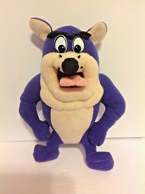 "Play-By-Play Looney Tunes ""Taz"", 8 inches tall purple and white color plush"