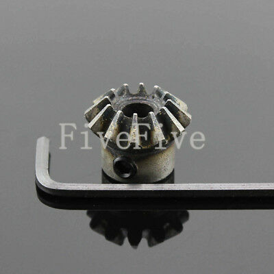 1.5M12T Metal Umbrella Tooth Bevel Gear Helical Motor Gear 12 Tooth 6mm/8mm Bore