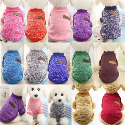 Small Pet Coat Dog Jacket Winter Warm Clothes Puppy Cat Sweater Coat Apparel New