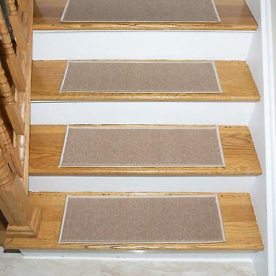 Ottomanson Skid Resistant Rubber Backing Non Slip Carpet Stair Treads  Machine