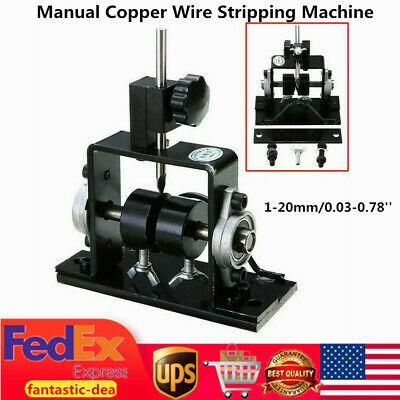Manual Wire Stripping Machine Cable Stripper Tool Scrap Metal Recycle US Stock!!