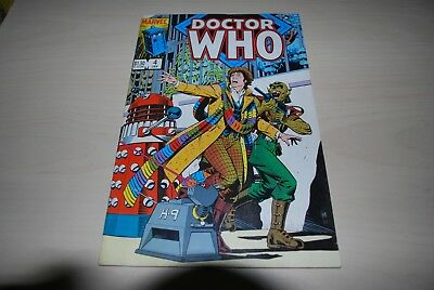 Rare Marvel Comic Doctor Who US Edition 4th Jan 1980's