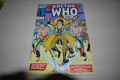 Rare Marvel Comic Doctor Who US Edition 6th March 1980's