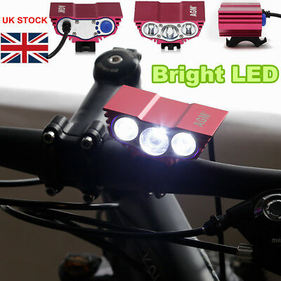 e4a1a2d9fa7 Super Bright Bike Light Front USB Rechargeable Bicycle LED Headlight 1200  Lumens