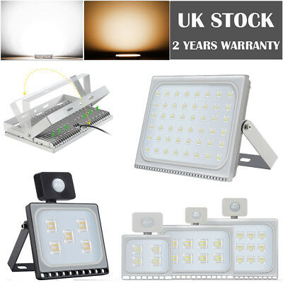 LED Floodlight 10W 20W 50W 100W 300W 500W PIR Sensor Outdoor Security Light IP65