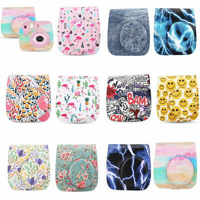 Multi-color Protective Camera Case Bag for Fuji Fujifilm Instax Mini 8/8+/9 HOT