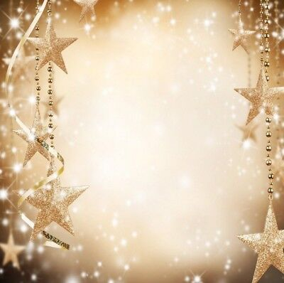 10x10Ft Bright Star pendant Christmas Photography Background Studio Backdrop Neu