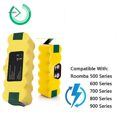 REPLACEMENT BATTERY FOR iRobot Roomba 500 600 700 800 900 Series Robot