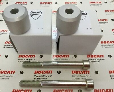Ducati Multistrada 950 1200 1260 Handle Bar Riser Kit NEW GENUINE DUCATI PARTS