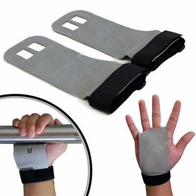 Crossfit Grips Leather Palm Protectors Hand Grips Guards Gym Gloves